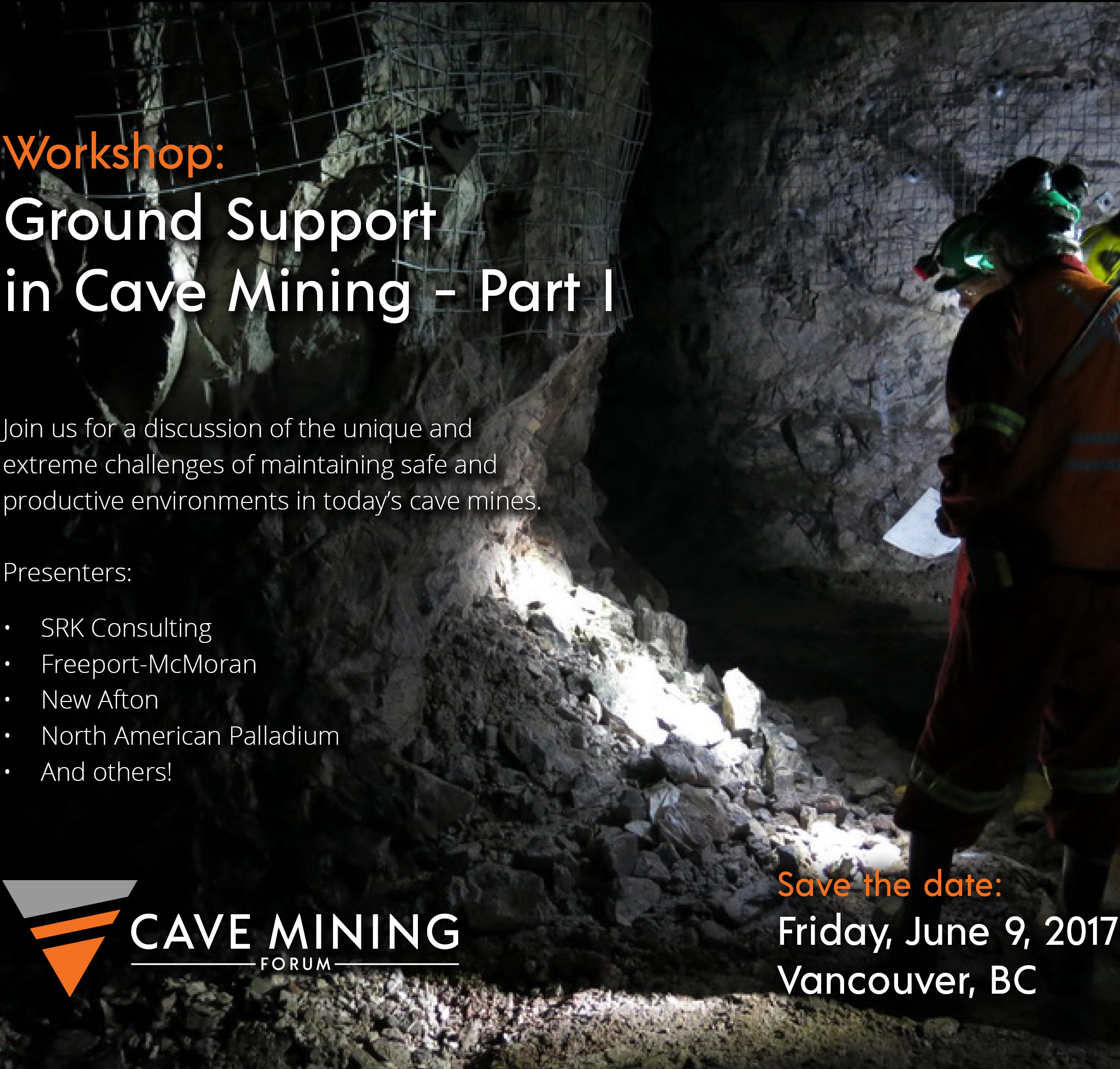 Ground Support in Cave Mining
